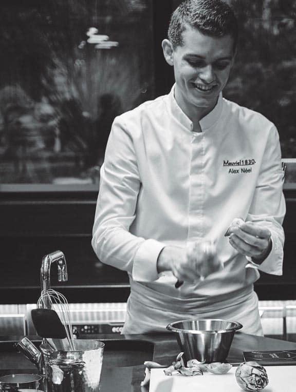 alex neel chef prive cuisine
